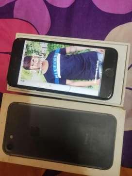 iPhone 7 black 32gb bill boks charger
