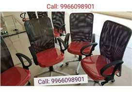 10 Red & Black Office Chairs - for just 23,000/- Only