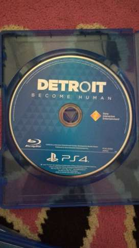Kaset / BD Game PS4 DETROIT BECOME HUMAN