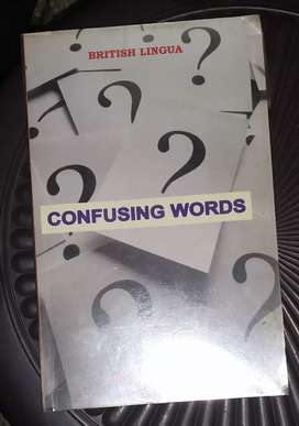 Confusing Words , By:Birbal Jha