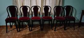 Dining set( 6 chairs)