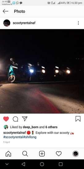 Yamaha Scooty Rental