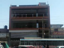 3floor with car parking  2800 sq ft each