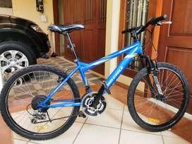 Sepeda Wim Cycle Hardtail 24 diamante