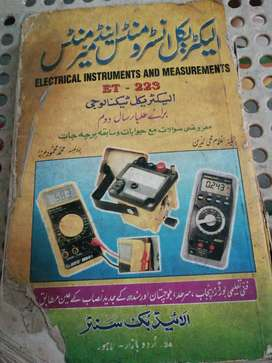 Electrical instruments and measurements