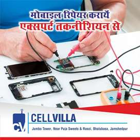 Mobile repairing with bill & warranty