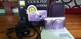 Camera NIKON COOLPIX S3500