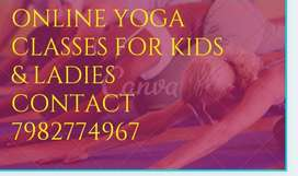 Online yoga and aerobics classes