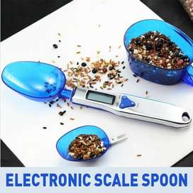 DIGITAL MEASURING KITCHEN SCALE SPOON WITH LCD DISPLAY