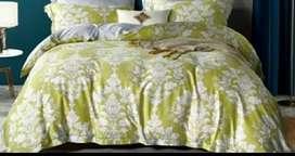 Set bedcover sutra import mewah , berbagai ukuran dan motif