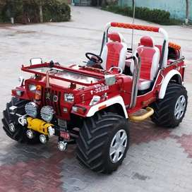 All modified jeep