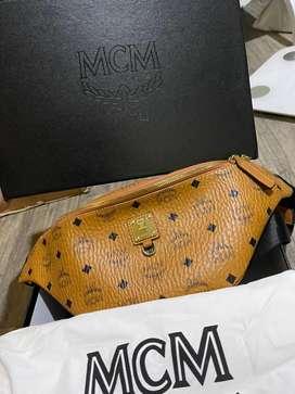 Mcm waist bag unisex