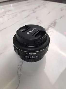 Lensa canon efs 24mm 2.8 stm
