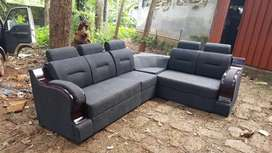 Full cover corner sofa @ free home delivery