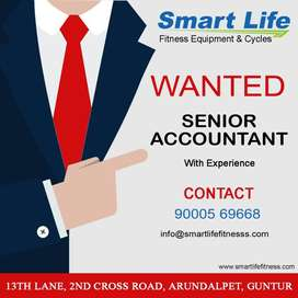 We are Hiring a Senior Accountant with Experience