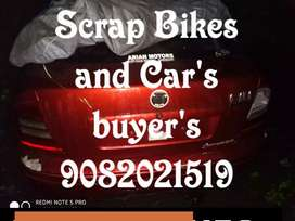 Scrap bike and cars buyers