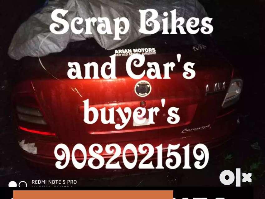 Scrap bike and cars buyers 0
