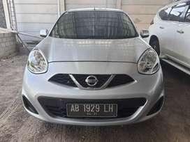 Nissan March Automatic Th 2016 km low Asli AB Full ori