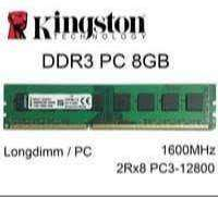 RAM Memory ddr3 8 GB1600MHz RAM KOMPUTER PC rusak ganti baru