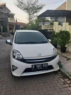 Toyota Agya G AT 2014 Low KM