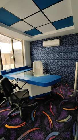 Luxury Office Available At AB Road near C21 Mall 4 Visit Plz Call