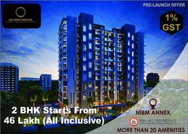 Buy 2 Bhk Home starts 46 Lakh(all inclusive), in NIBM