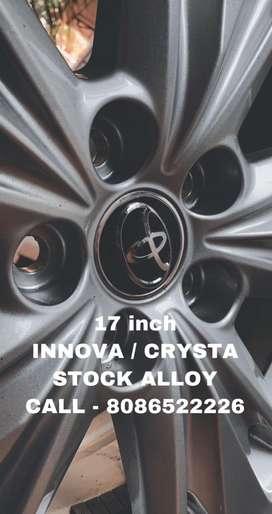 INNOVA / Crysta 17 inch Orginal Stock Alloy