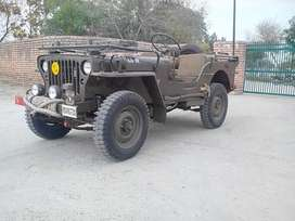 Mahindera willys jeep without all stickers