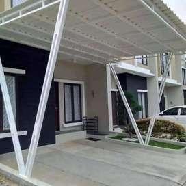 @29 canopy minimalis rangka tunggal atapnya alderon rs anti panas