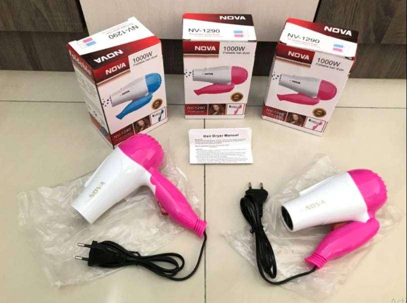 HairDryer Nova N-658 / Hair Dryer Lipat Pengering Rambut Traveling