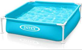 Intex - mini frame pool - Blue 122 x 122 cm - 57173