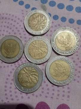 Uang kuno 1000 klpa sawit cat aj