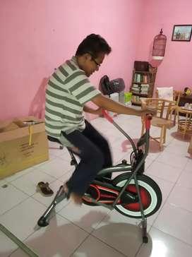 New Sepeda fitnes Platinum bike dua fungsi