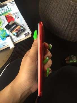 iphone plus red 128gb fullset