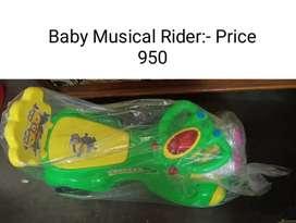 BRAND NEW Kids (Musical Rider)
