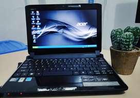 Netbook Acer Aspire One 532H Cocok untuk Sekolah, kerja Kantor,Kuliah