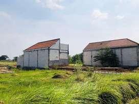 Dekat Pasar Krembung, Tanah Siap Balik Nama SHM Pecah