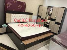 New bedroom set in plywood and yeak wood on instalment at very afforda