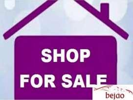 Shop for sale in Sanjay nagar,trimurti market bareilly