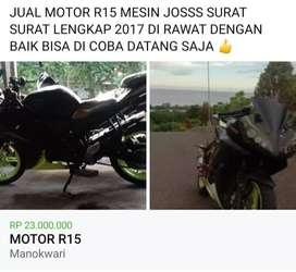 JUAL MOTOR R 15