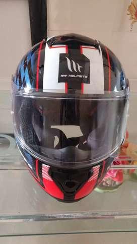 MT isle of Man TT helmet. With bill and 2 years warranty