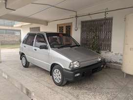 Family used mehran car. No major accident.