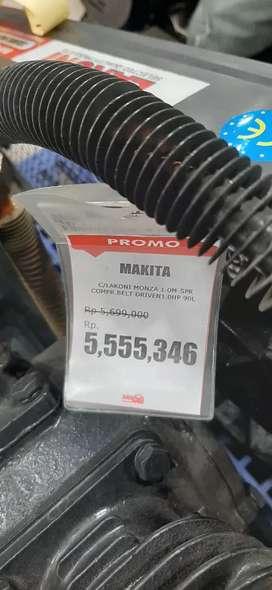 Bisa Kredit Compressor Lakoni Makita 90 LT, Proses 15 Menitan