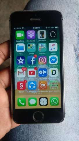 I phone 5s 16 gb good phone with only data cable