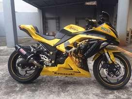 Jual Kawasaki Ninja 250fi Tahun 2015 Bandung. Terawat, Jarang dipakai