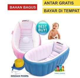 intime tempat mandi bak kolam bayi bath tub baby pink 2345