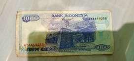 Uang Kuno 1000,500,100 Rupiah