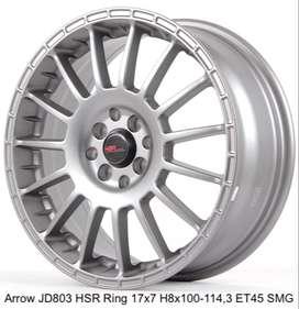 VELG RACING ARROW JD803 HSR R17X7 H8X100-114,3 ET45 SMG