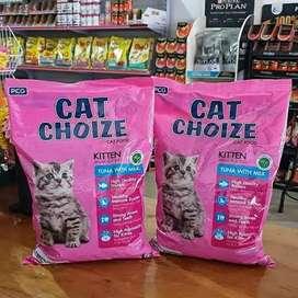 Cat choize kitten anak kucing bebas bahan Babi makanan kucing COD bisa