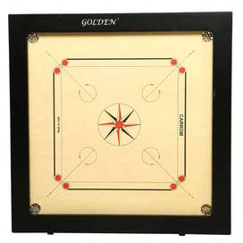 Golden Champion Carrom Board